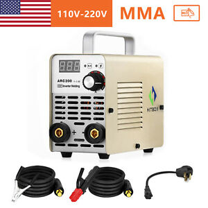 Mini Portable Arc Welding Machine 110v 220v Igbt Dc Inverter Mma Welder 10 200a