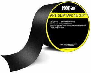 Safety Anti Slip Tape Rubberized 4 X 30 Roll Non Skid Stairs Grip Boat Step