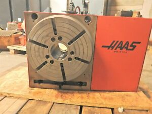 Haas Hrt 310 Rotary Indexer With Tailstock And Servo Control