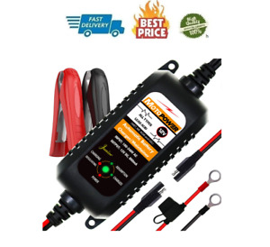 Car Auto Motorcycle Battery Charger Float Trickle Tender Maintainer 12v 800ma