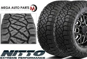 2 Nitto Ridge Grappler 35x12 50r20lt 12pr 125q All Terrain Lt Truck Mud Tires
