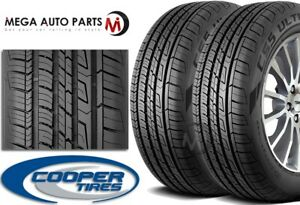 2 Cooper Cs5 Ultra Touring 215 60r16 95v M S All Season 70k Mile Warranty Tires