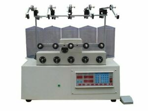 5 Reels Computer Cnc Automatic Coils Winder Winding Machine For Transfomer