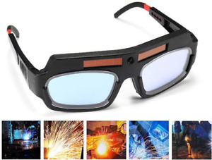 Black Solar Auto Darkening Welding Goggle Safety Protective Welding Glasses Mask