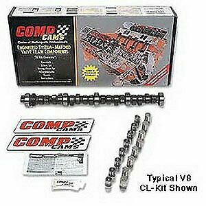 Comp Cams Cl08 433 8 Xtreme Energy Xr288 Hydraulic Roller Camshaft Lifter Kit
