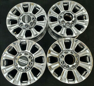 2005 2020 Ford F250 F350 Factory Original Oem 18 Inch Chrome Wheels Rims 10097