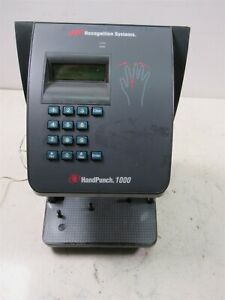 Biometric Time Clock Hand Scanner Ir Recognition Systems Handpunch 1000