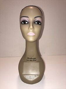 Realistic Mannequin Head For Wigs jewelry hats e mp072n