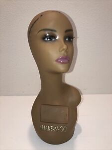 Realistic Mannequin Head For Wigs jewelry hats e mp087