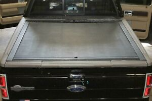 Aftermarket 09 14 F150 Roll n lock Sliding Stowable Bed Cover Panel 5 5 Tonneau