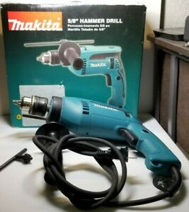 Makita Hp1640 6 0 Amp 5 8 Hammer Drill W Box