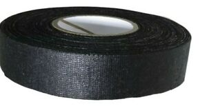 Black Cotton Friction Tape Non corrosive Rubber Resin Adhesive 3 4 1 Rool
