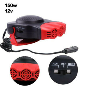 Car Heater Defroster 12v Car Auto Portable Electric Heater Heating Cooling Fan
