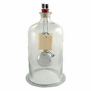 Vacuum Bell Jar With Electric Bell For Laboratory Use