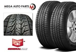 2 General Altimax Rt43 195 60r14 86h All Season Premium Touring 600aa Tires
