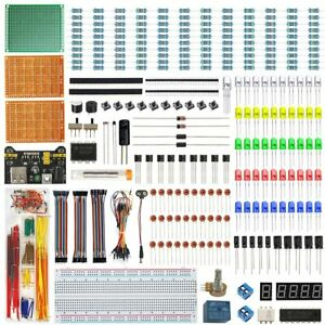 Wayintop Electronics Component Fun Kit W e book Upgraded Electronic Starter