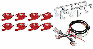 Msd Ignition 82878k Gm Ls2 ls7 Coil Pack Kit Includes