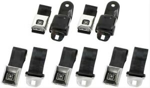 Oer R171 Seat Belts 1968 69 F Body W Deluxe Interiors Complete Kit 2 Front 3