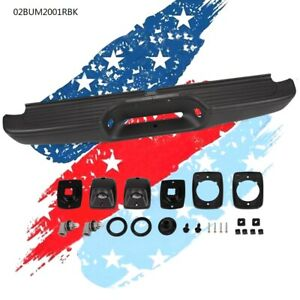 Complete Rear Steel Step Bumper Assembly For 95 04 Toyota Tacoma Truck