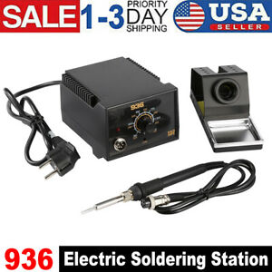 110v 936 Electric Soldering Guns Power Iron Frequency Station Welding Kit Tool