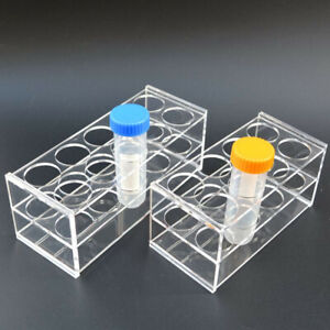 Large 8 S Test Tube Rack Testing Holder Storage Plastic Stand 30mm