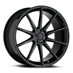 20 Mandrus Klass 20x8 5 Gloss Black 5x112 For Mercedes 5 Lug Wheel 22mm Rim