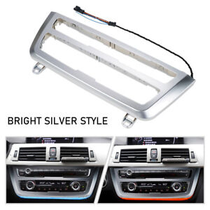 A C Panel Led Ambient Light Pearl Chrome Look Kit For Bmw F32 F33 F36 M4 F82 F83