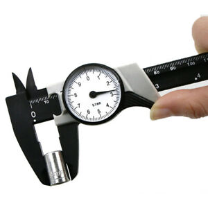 0 150mm Measuring Tool Gauge Precision Metric Imperial With Dial Vernier Caliper