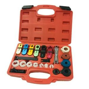New 22pcs A C Air Conditioning Oil Fuel Transmission Line Disconnect Tool Set