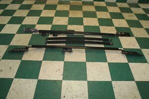 03 07 Land Cruiser Luggage Roof Carrier Rack Rails Crossbars Factory Oem