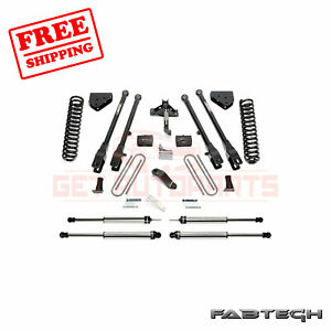 Fabtech 6 4 Link System W Dirt Logic Ss Shocks For Ford F250 4wd 2008 16