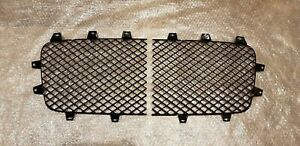 High Quality Lh Rh Front Black Radiator Grilles For Bentley Continental Gt Gtc