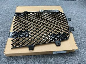 New Bentley Continental Gt Gtc Left Front Black Radiator Grille 3w3853683a