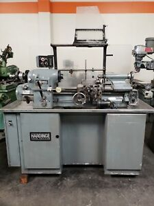 Hardinge Hlv h High Speed Tool Room Lathe Tool Post Tailstock Collet Nose