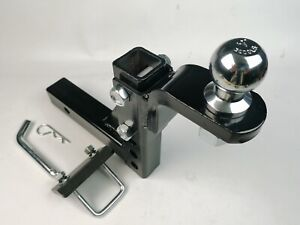 10 trailer Drop Hitch Ball Mount For 2 receiver With 1 7 8 hitch Ball tightener