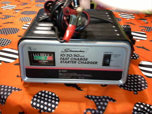 Schumacher Se 1250 Battery Charger Fully Working Great Condition