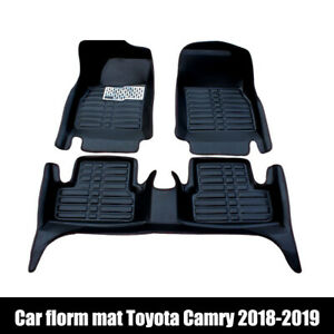 Car Floor Mats Front Rear Liner Waterproof Mat Fit For Toyota Camry 2018 2020