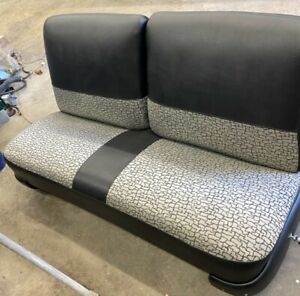 Bench Seat For 2 Door 57 Chevy Refurb Tracks Reupholstered 150 Series