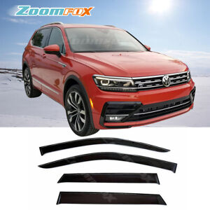 Fit Vw Tiguan 7 Seater 2018 2020 Door Window Visors Rain Guard Vent Deflector