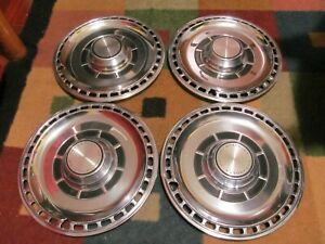 Chevrolet Motor Division Hub Caps 14 Set 4 Chevy Wheel Covers Hubcaps Vintage