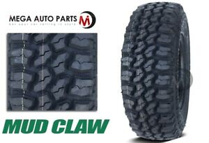1 Mud Claw Extreme M T 35x12 50r17lt 121q E Mud Terrain All Season Truck Tires