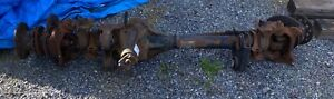 2012 Ford F350 Front Axle Assembly Dual Rear Wheel