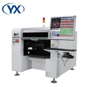 New Smt550 Screw Guide High Performance Smt Pick And Place Machine Pcb Equipment