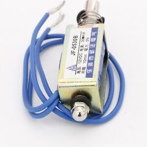 Jf 0530b Dc12v 300ma 5n 10mm Pull Push Type Solenoid Electromagnet