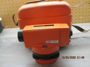 Wild Heeburgg Na 0 Automatic Level For Surveying With Hard Case