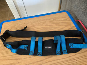 Secure Safety Belt Blk blue Model stwb 52 Personal Safety Corp
