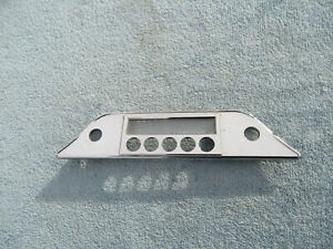 1960s Am Radio Bezel Dash Face Plate Plymouth Valiant Signet 225 Barracuda