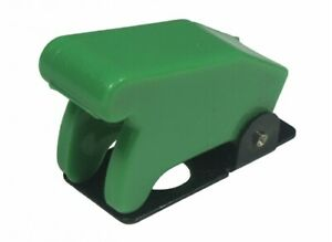 Wirth Co 20564 7 Aircraft Style Toggle Switch Cover green pack Of 1