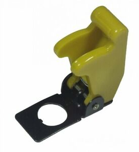 Wirth Co 20566 7 Aircraft Style Toggle Switch Cover yellow pack Of 1