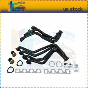 Racing Exhaust Header High Flow For 77 79 Ford F150 250 350 Bronco Pickup Truck